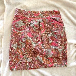 H&M Women's Pink Skirt Size 6